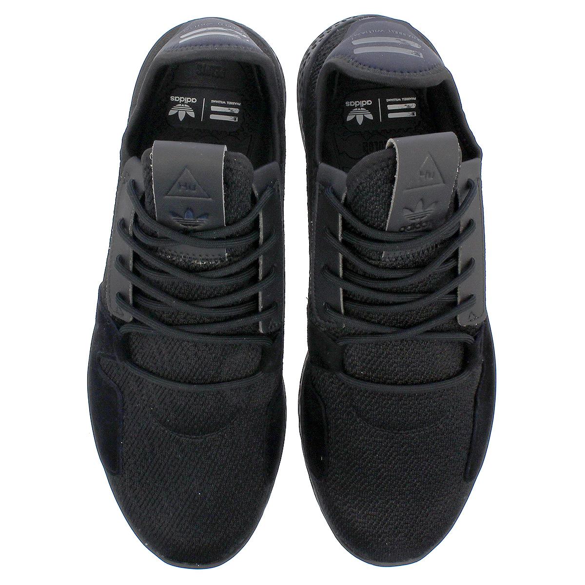 adidas PW TENNIS HU V2 Adidas Farrell Williams tennis HU V2 CORE BLACKCARBONRUNNING WHITE db3326