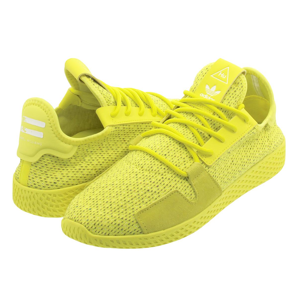46ff7657987e adidas PW TENNIS HU V2 Adidas Farrell Williams tennis HU V2 SHOCK YELLOW SHOCK  YELLOW RUNNING WHITE db3329