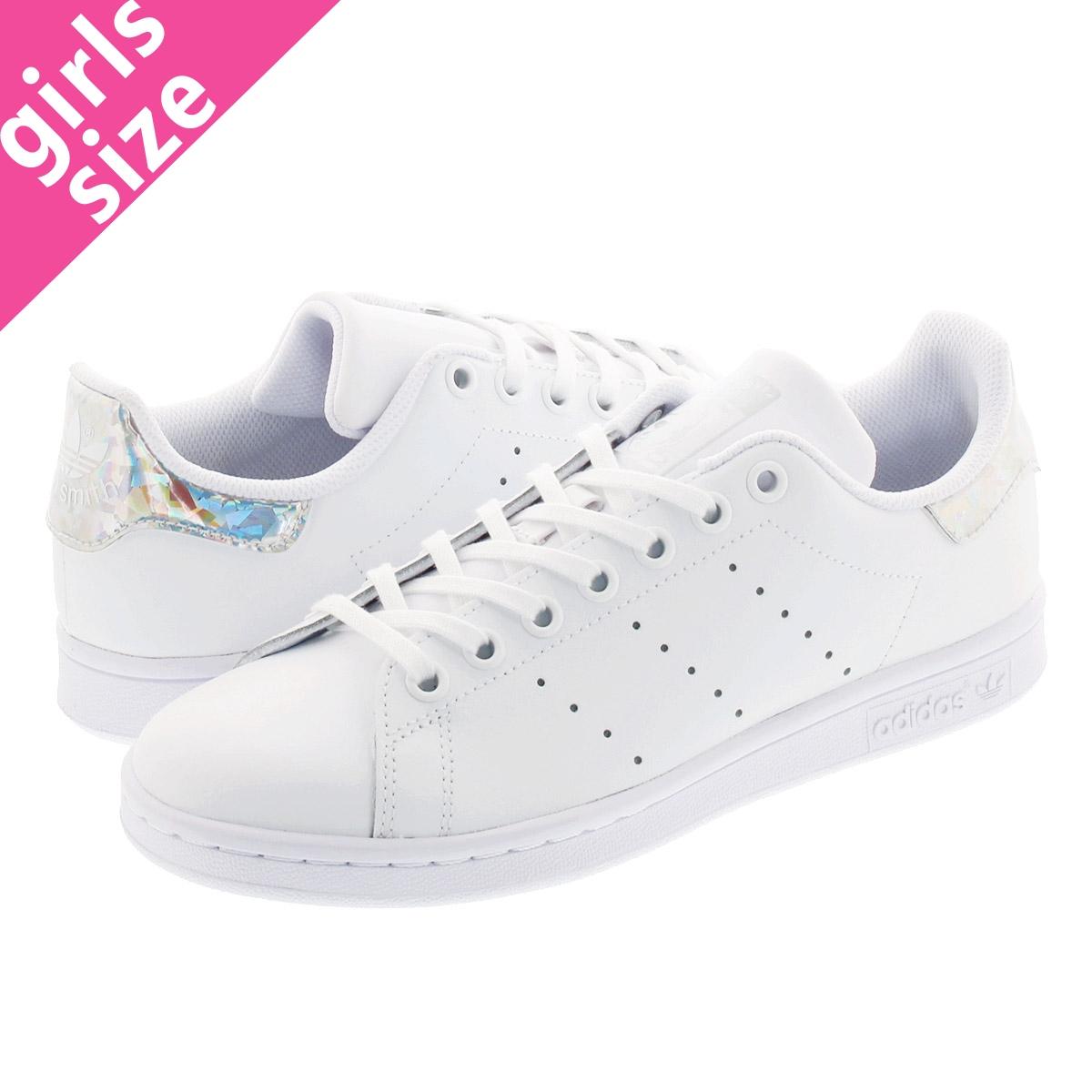 sprzedawane na całym świecie spotykać się uroczy adidas STAN SMITH J Adidas Stan Smith J WHITE/WHITE/BLACK ee8483