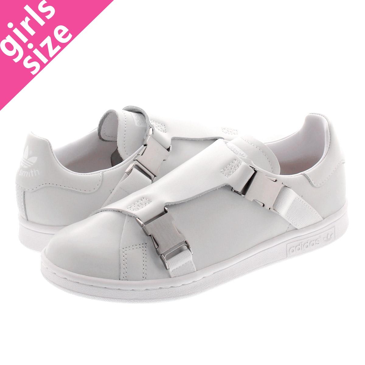 【毎日がお得!値下げプライス】 adidas STAN SMITH BCKL W アディダス スタンスミス バックル ウィメンズ RUNNING WHITE/GOLD MET/RUNNING WHITE ee4881
