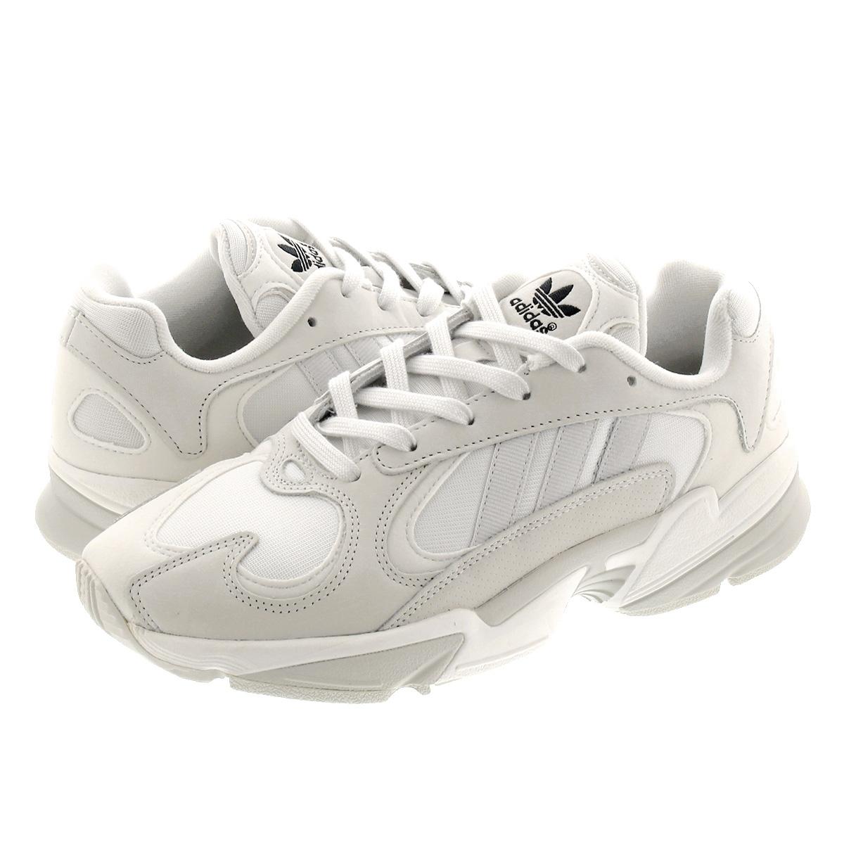 【毎日がお得!値下げプライス】 adidas YUNG-1 アディダス ヤング 1 CRYSTAL WHITE/GREY ONE/CORE BLACK ee5319