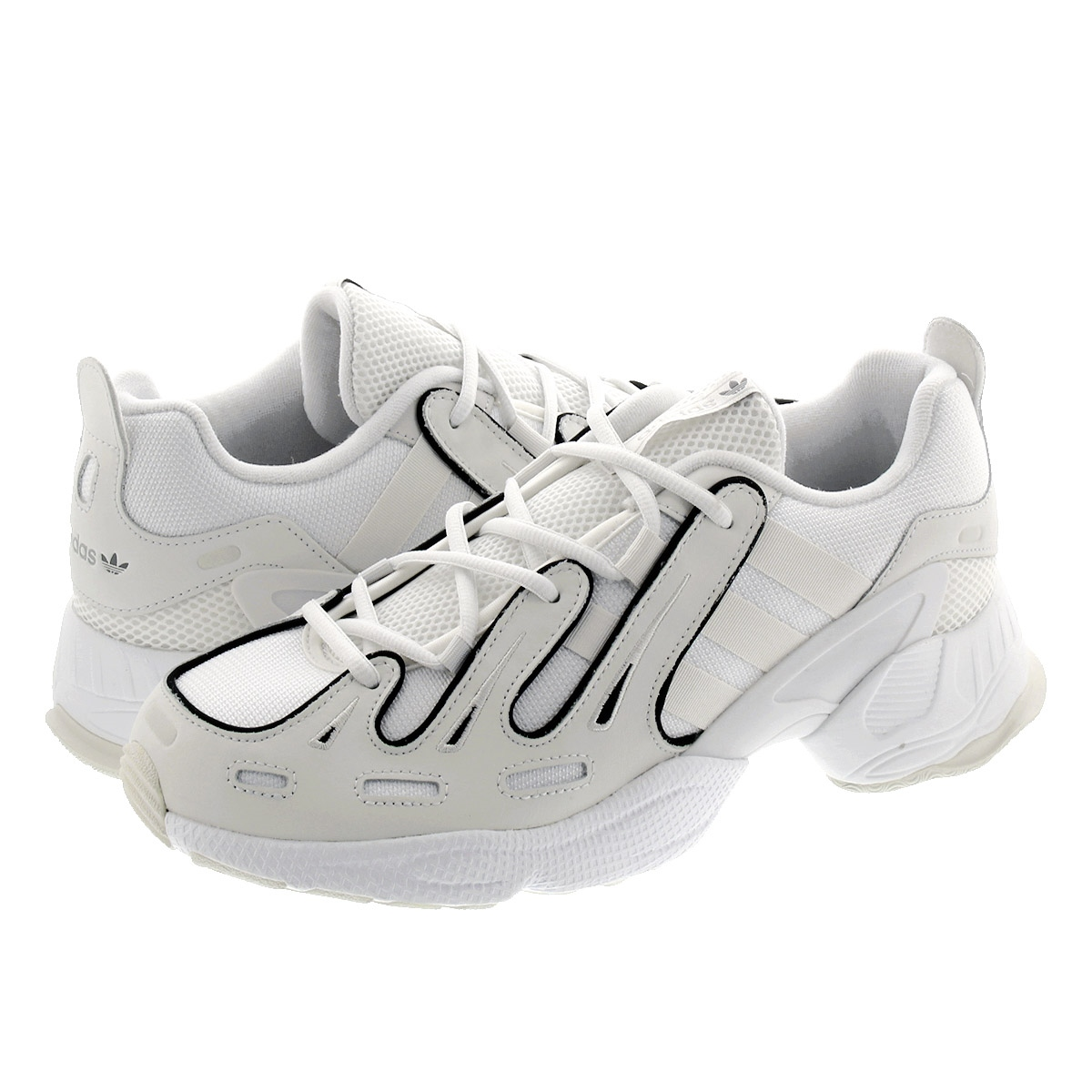 Adidas EQT Gazelle Crystal White & Black | END.