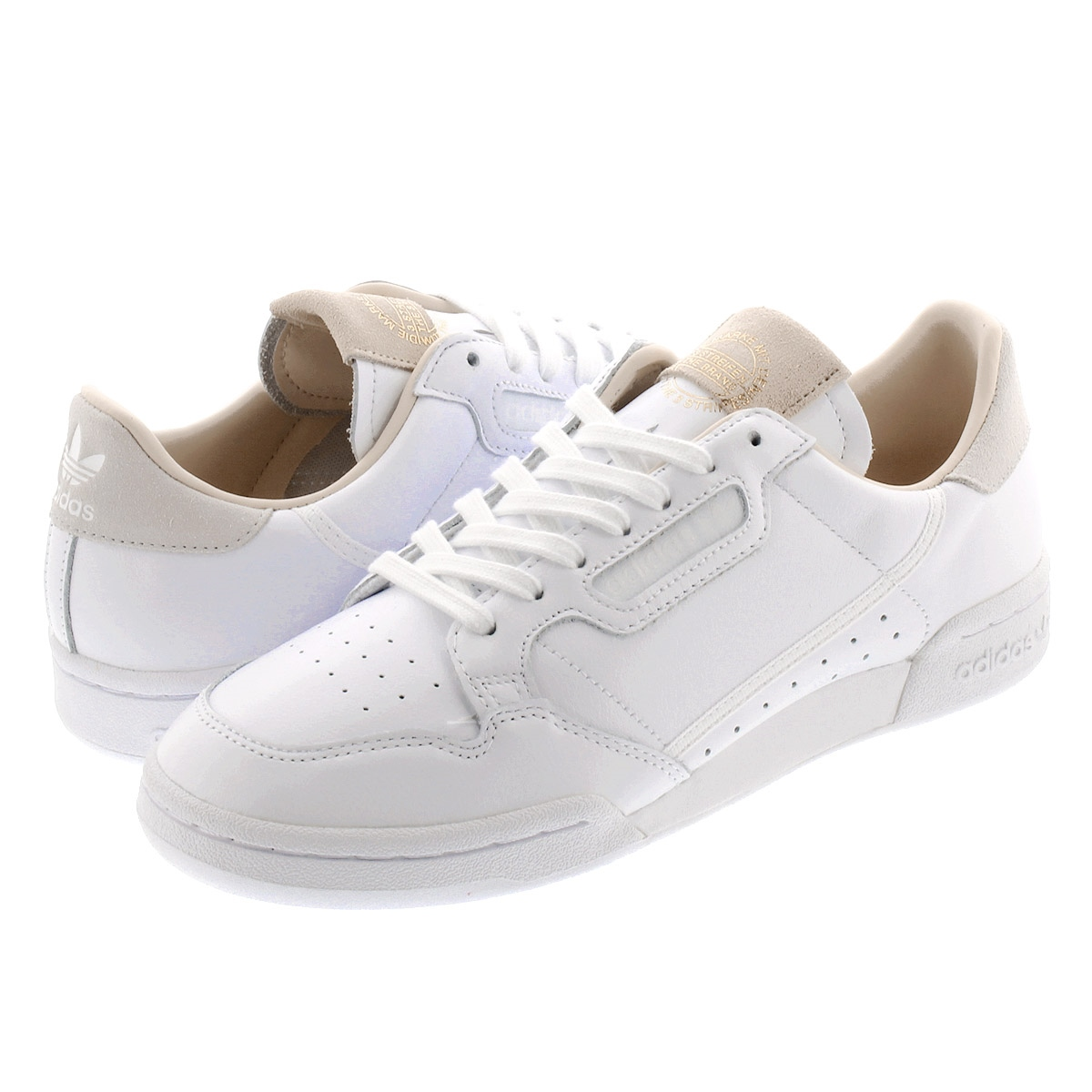 adidas CONTINENTAL 80 Adidas Continental 80 RUNNING WHITE/RUNNING  WHITE/CRYSTAL WHITE ef2101