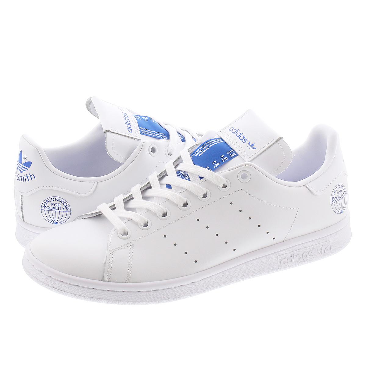 adidas STAN SMITH アディダス スタンスミス FTWR WHITE/FTWR WHITE/BLUE BIRD fv4083