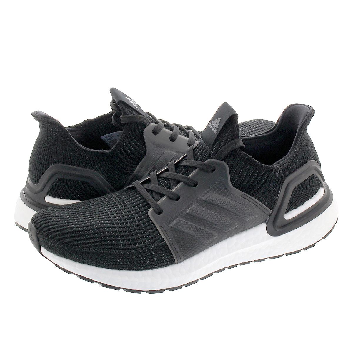 【スーパーSALE】adidas ULTRA BOOST 19 アディダス ウルトラ ブースト 19 CORE BLACK/CORE BLACK/RUNNING WHITE g54009