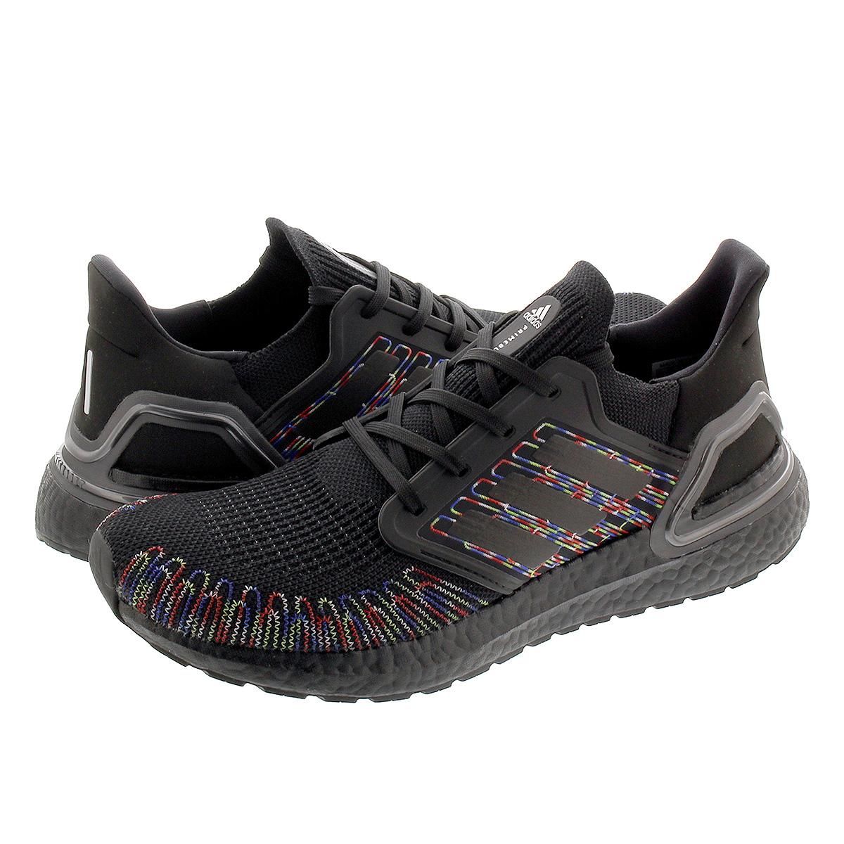 adidas ULTRABOOST 20 アディダス ウルトラブースト 20 CORE BLACK/CORE BLACK/SIGNAL GREEN eg0711