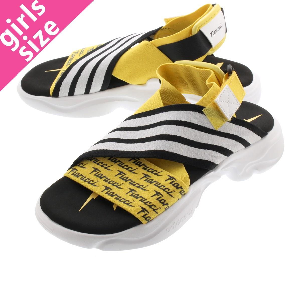 adidas MAGMUR SANDAL W アディダス アマグマ サンダル ウィメンズ CORE YELLOW/FTWR WHITE/CORE BLACK eg6213