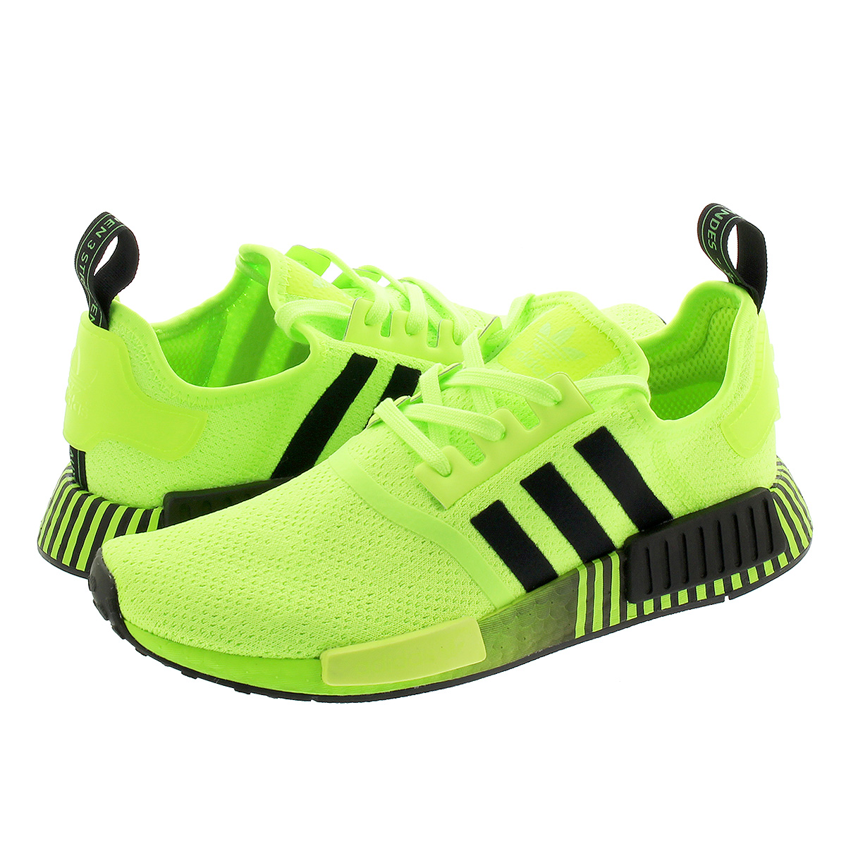 adidas NMD_R1 アディダス エヌエムディー R1 SIGNAL GREEN/CORE BLACK/SIGNAL GREEN fv3647