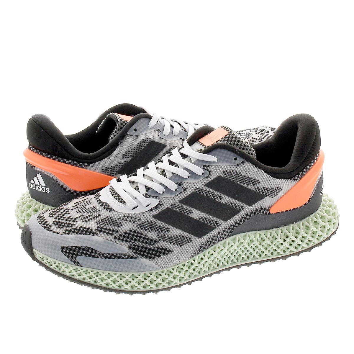 【スーパーSALE】adidas 4D RUN 1.0 アディダス 4D ラン 1.0 FTWR WHITE/CORE BLACK/SIGNAL CORAL fw1233