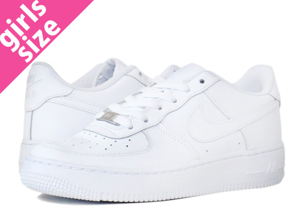 NIKE AIR FORCE 1 LOW GS Nike Air Force 1 low GS WHITE