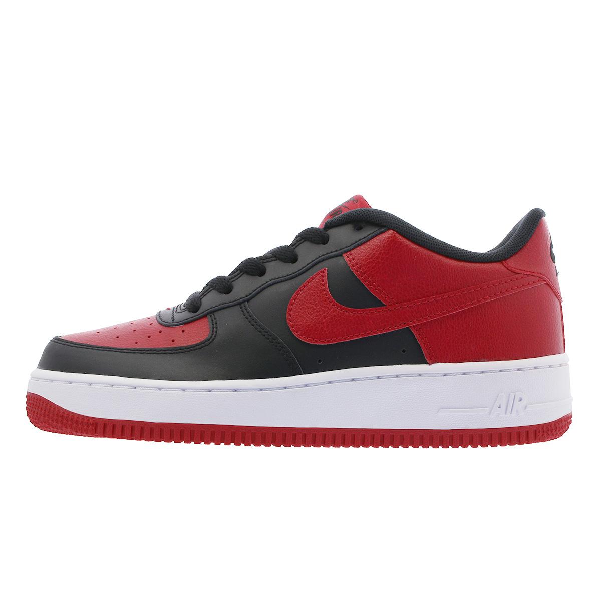 reputable site 04e57 a6560 NIKE AIR FORCE 1 GS Nike air force 1 GS BLACKGYM REDWHITE 596,728-016