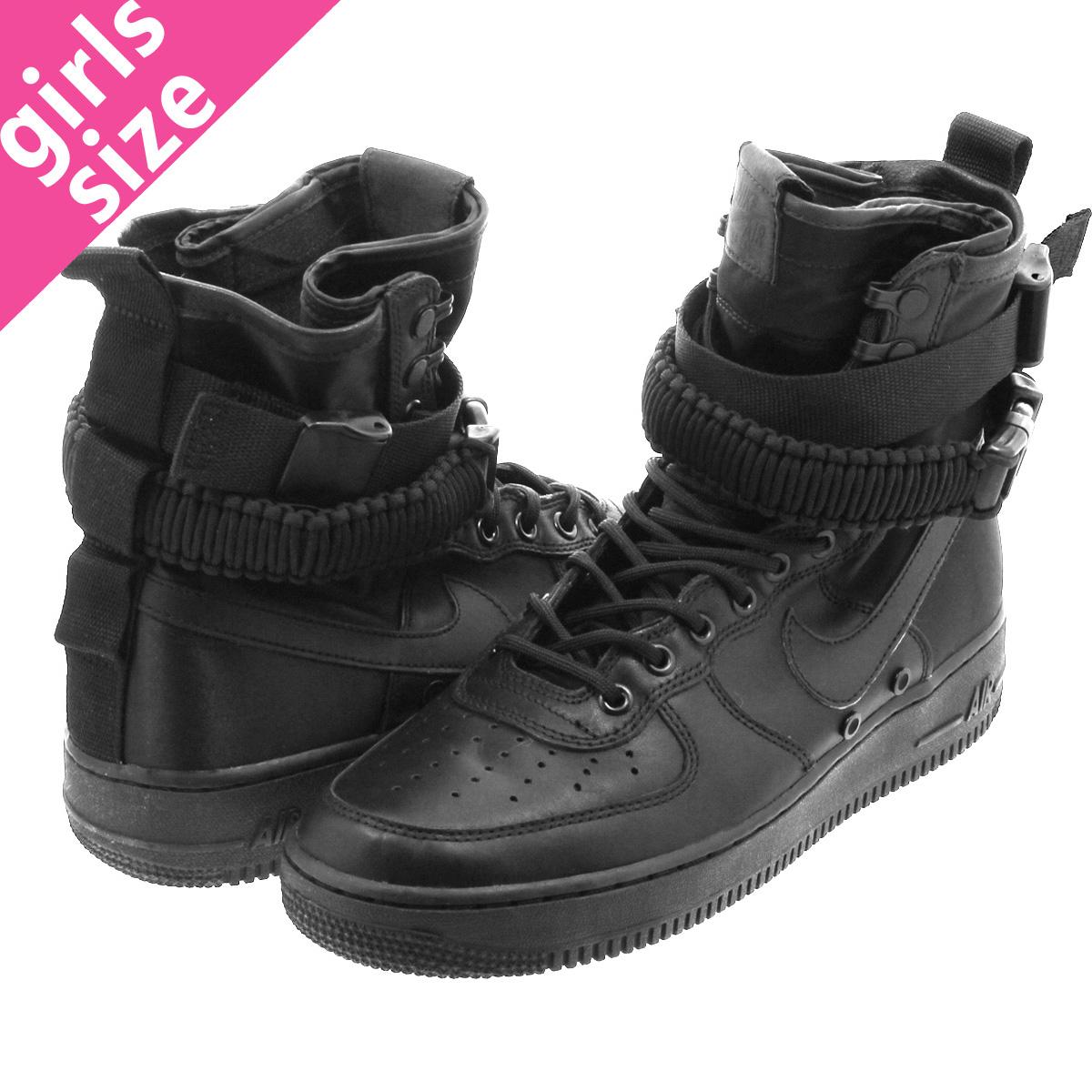 9e404d2de34 NIKE WMNS SPECIAL FIELD AIR FORCE 1 Nike women special field air force 1  BLACK BLACK BLACK 857