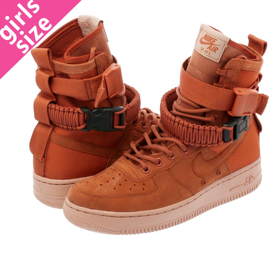 NIKE WMNS SPECIAL FIELD AIR FORCE 1 Nike women special field air force 1 DUSTY PEACHPARTICLE PINK 857872 202 l