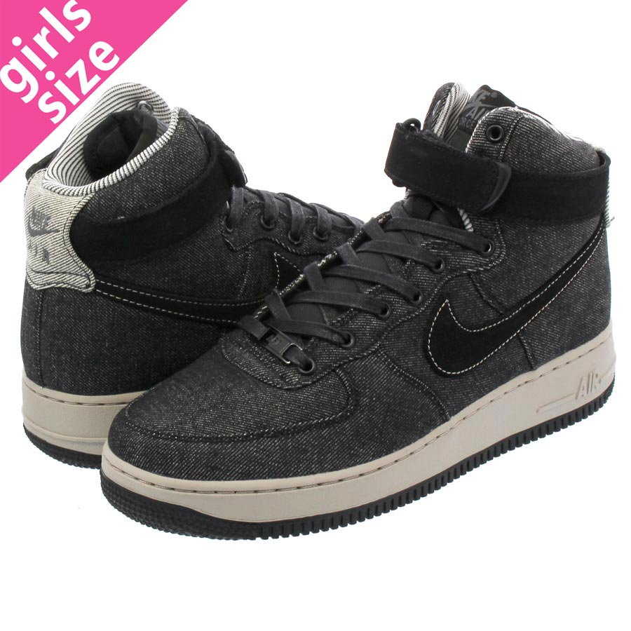 best sneakers d14ab 52dbe NIKE WMNS AIR FORCE 1 HI SE Nike women air force 1 high SE BLACK DARK GREY COBBLESTONE  860544-003-l