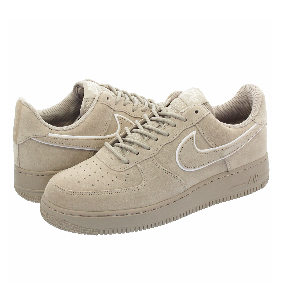 nice cheap online store arrives NIKE AIR FORCE 1 '07 LV8 SUEDE Nike air force 1 '07 LV8 suede MOON  PARTICLE/SEPIA STONE