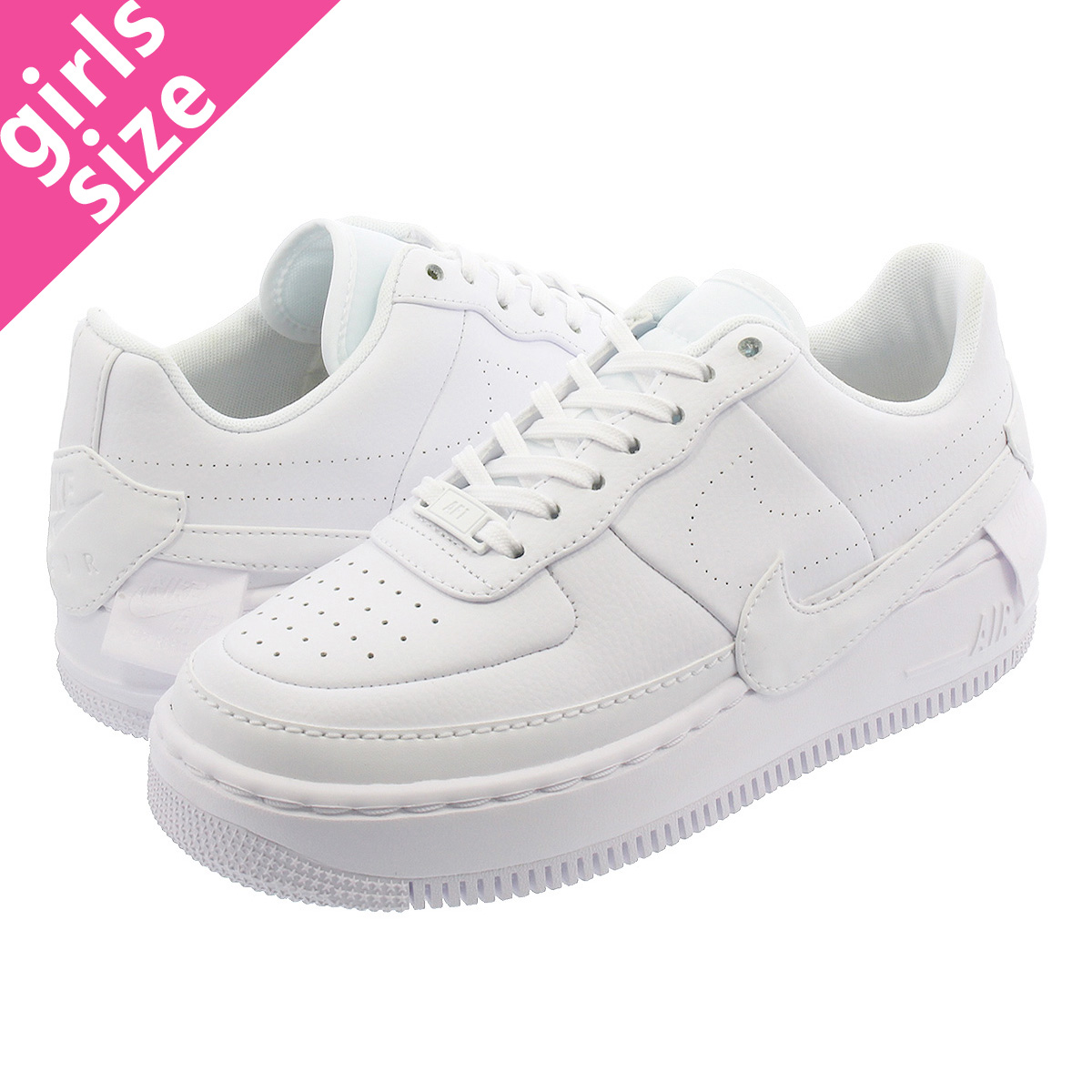 ee1d388ff8 NIKE WMNS AIR FORCE 1 JESTER XX Nike women air force 1 Jester XX  WHITE/WHITE/BLACK ao1220-101