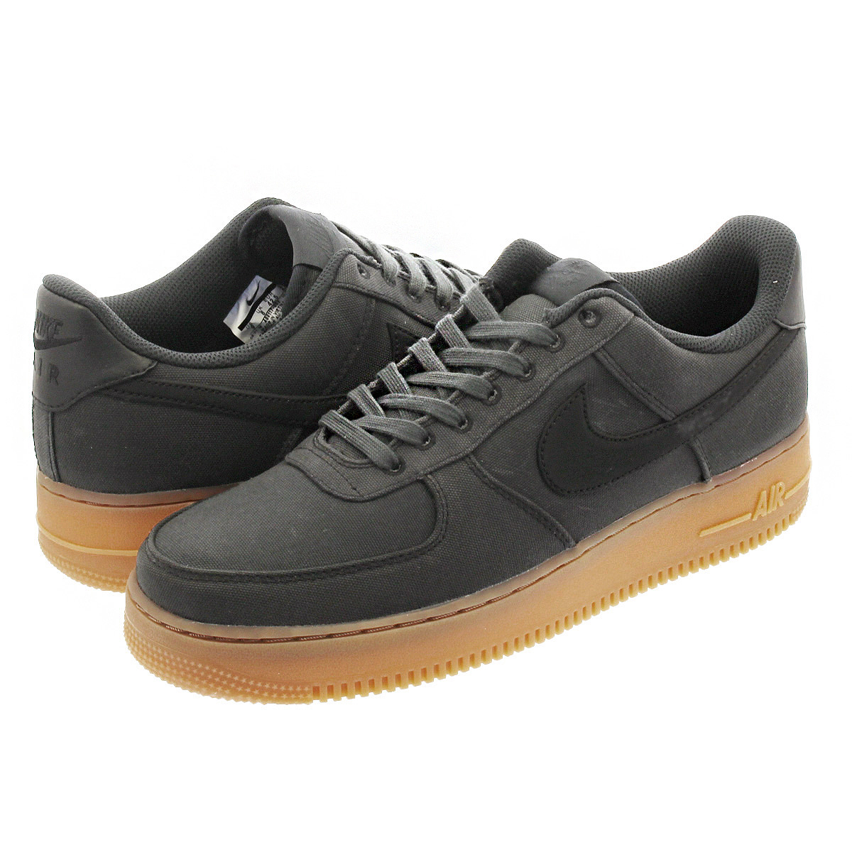 low priced c5034 52250 NIKE AIR FORCE 1  07 LV8 STYLE Nike air force 1  07 LV8-style BLACK GUM MED  BROWN aq0117-002