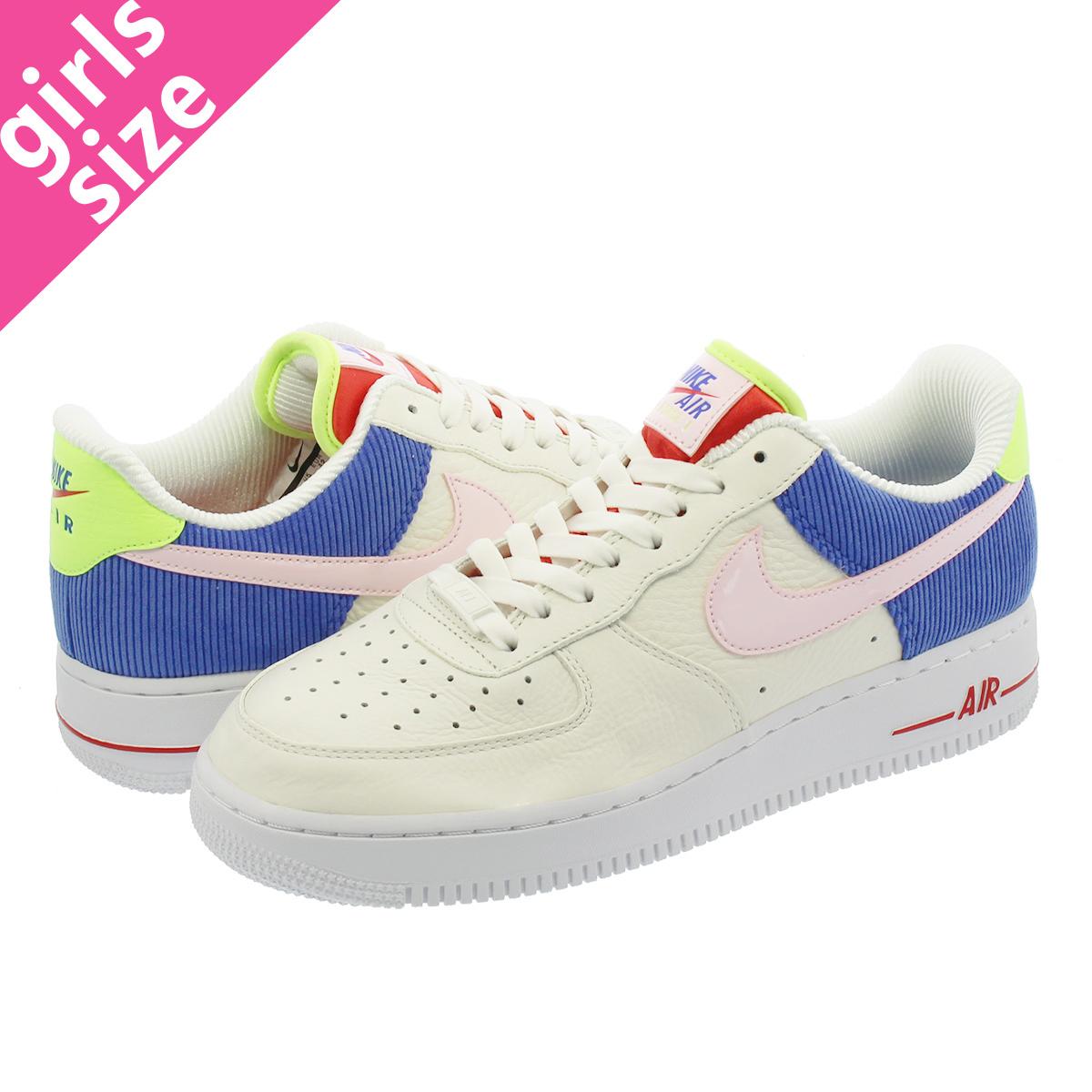 NIKE WMNS AIR FORCE 1 LOW Nike women air force 1 low SAILARCTIC PINKRACER BLUE aq4139 101