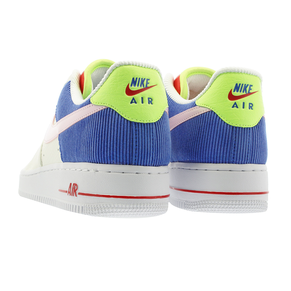 reputable site 10cfc 24575 NIKE WMNS AIR FORCE 1 LOW Nike women air force 1 low SAIL ARCTIC PINK RACER  BLUE aq4139-101