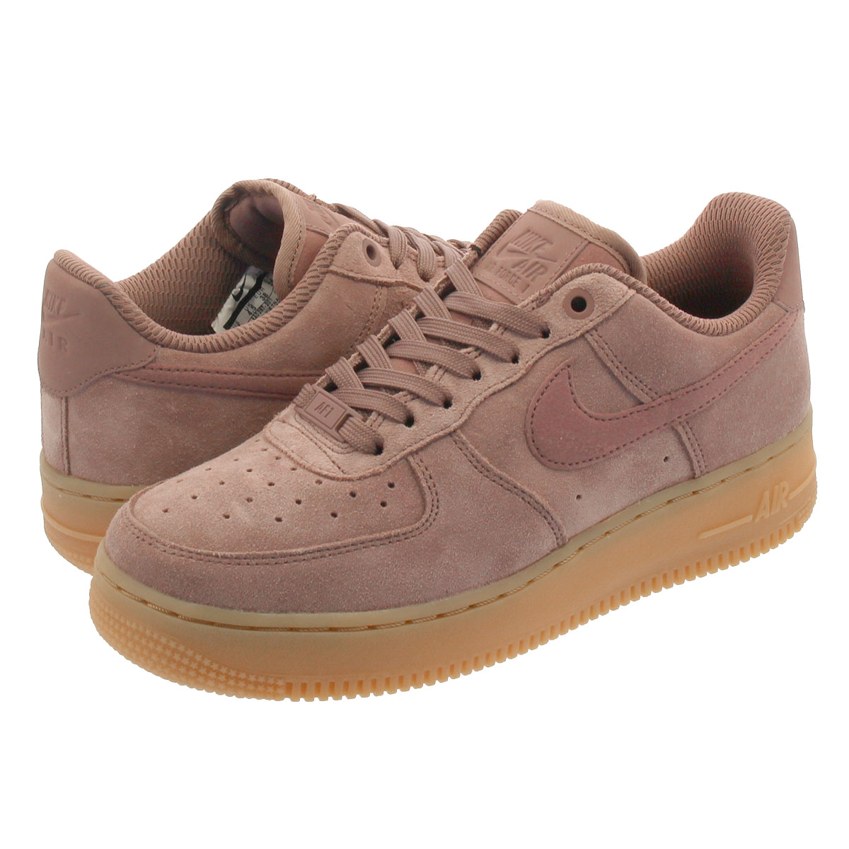 NIKE WMNS AIR FORCE 1 '07 SE Nike women air force '07 SE SMOKEY MAUVESMOKEY MAUVE aa0287 201