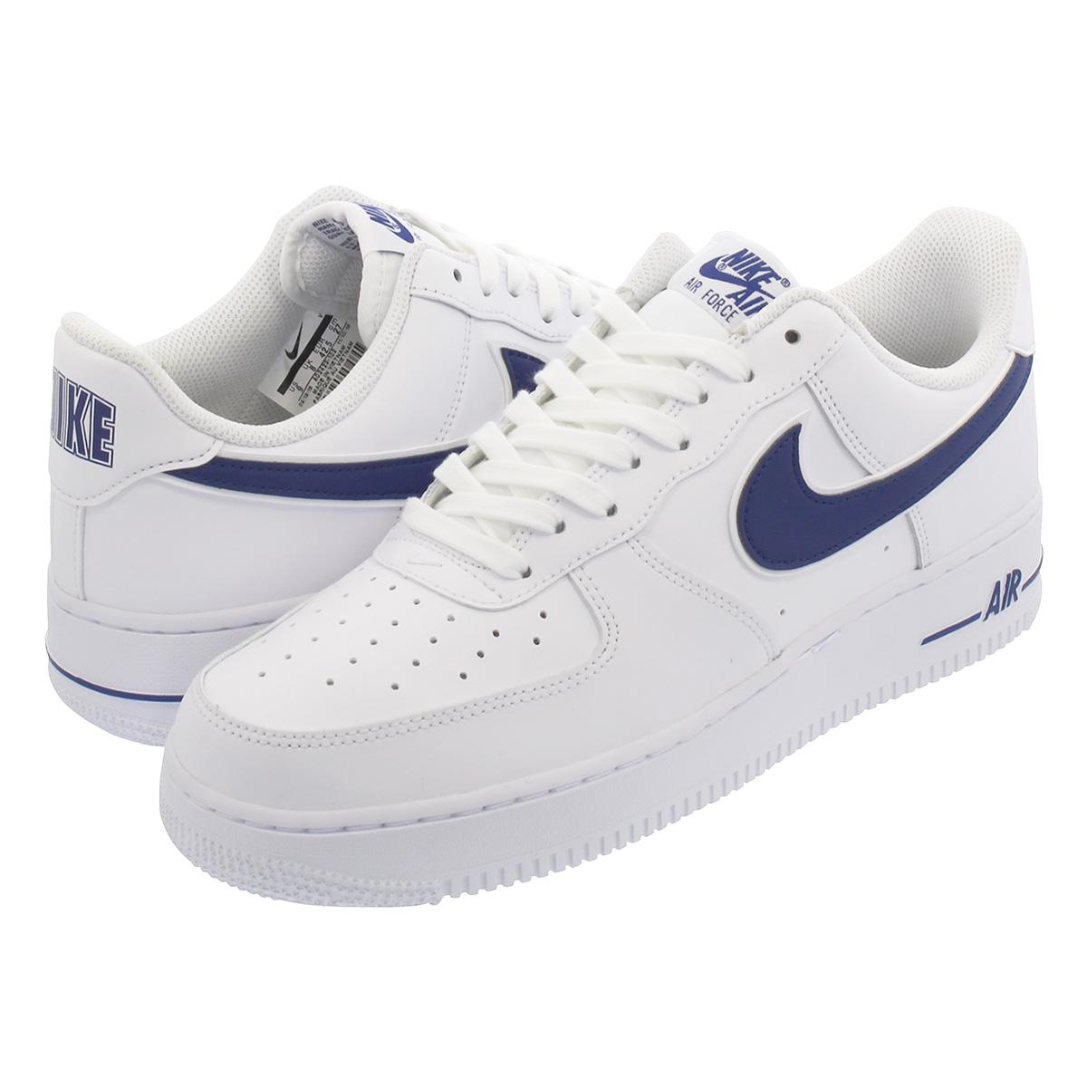 meet 4267c 2a5cf NIKE AIR FORCE 1  07 Nike air force 1  07 WHITE DEEP ROYAL ...