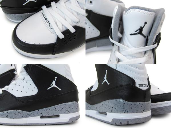 NIKE AIR JORDAN SC-1 year Jordan SC 1 WHITE/BLACK