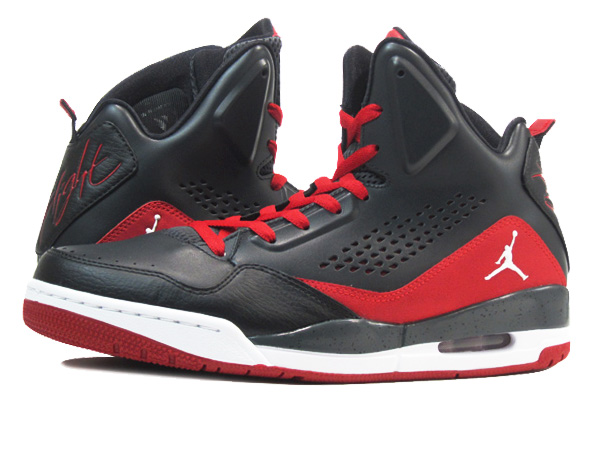 NIKE AIR JORDAN SC-3 Nike Air Jordan SC-3 BLACK/RED
