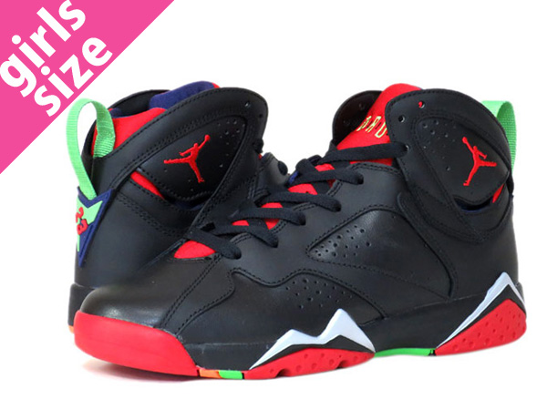 competitive price 094b2 7a744 NIKE AIR JORDAN 7 RETRO BG Nike Air Jordan 7 nostalgic BG BLACK/UNIVERSITY  RED/GREEN/GREY 304,774-029