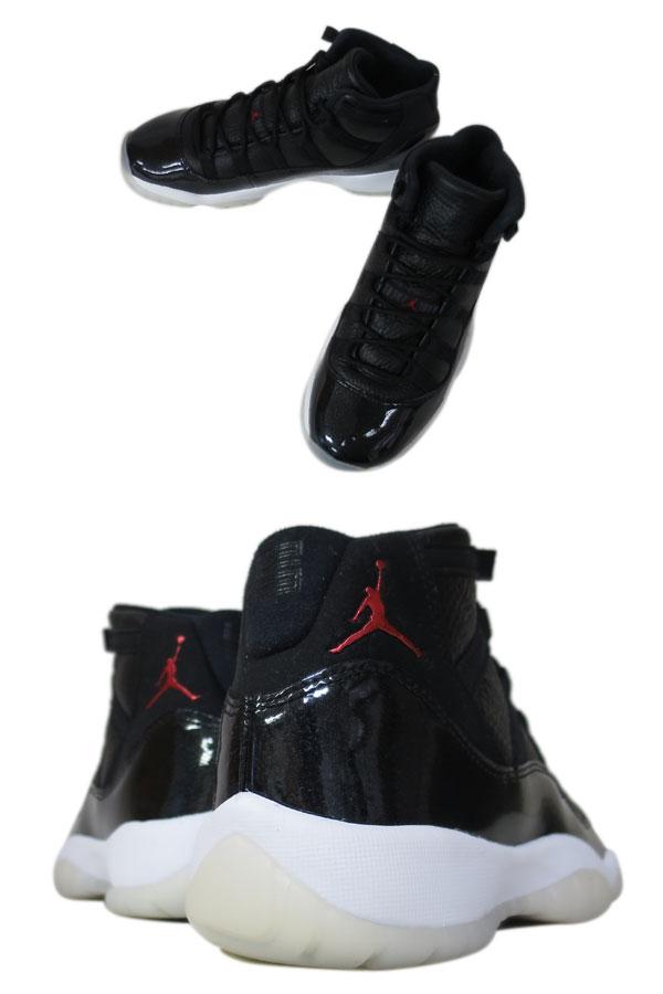 timeless design 8567c 51a60 NIKE AIR JORDAN 11 RETRO BG Nike Air Jordan 11 nostalgic BLACK GYM RED WHITE  ANTHRACITE 378,038-002
