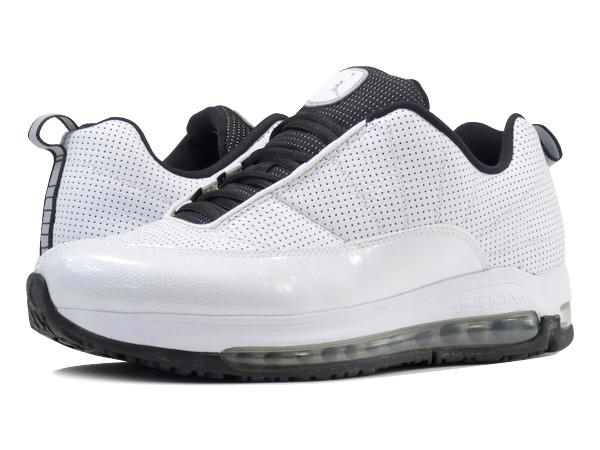 NIKE AIR JORDAN CMFT MAX AIR 12 LTR Nike Jordan comfort max air 12 LTR  WHITE/WOLF GREY/BLACK