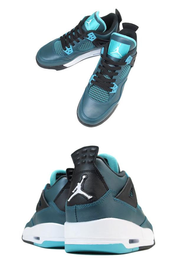 c6a2ccd6230bdf NIKE AIR JORDAN 4 RETRO 30TH GG Nike Air Jordan 4 nostalgic 30TH GG DARK  TEAL TROPICAL TEAL BLACK WHITE