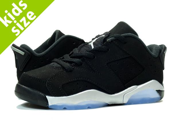 62e3c7df769 NIKE AIR JORDAN 6 RETRO LOW PS Nike Air Jordan 6 retro Lo PS BLACK/METALLIC  SILVER/WHITE