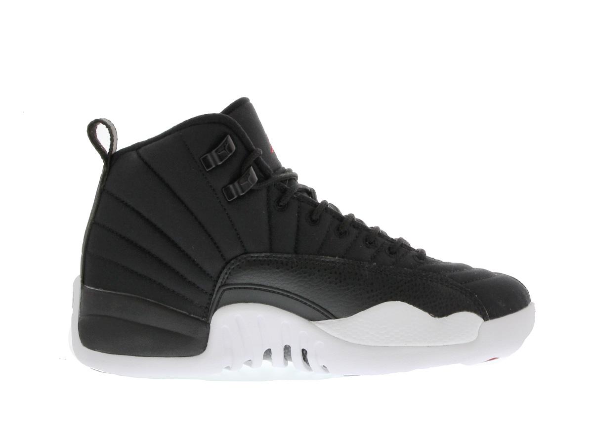 92e16785ff4c NIKE AIR JORDAN 12 RETRO GS Nike Air Jordan 12 retro GS BLACK GYM RED WHITE