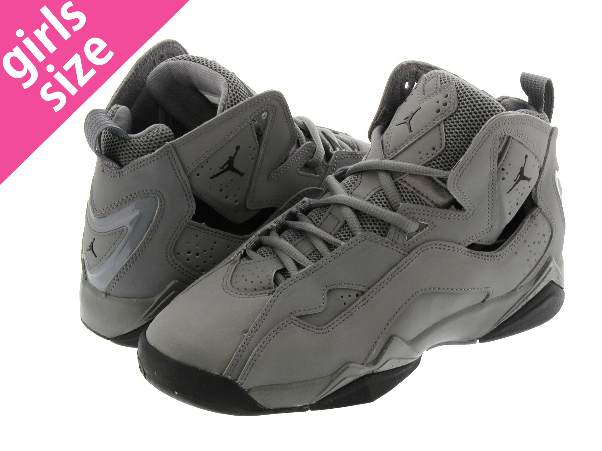 024cf3bd77fc73 LOWTEX BIG-SMALL SHOP  NIKE JORDAN TRUE FLIGHT GS Nike Jordan true flight  GS COOL GREY BLACK