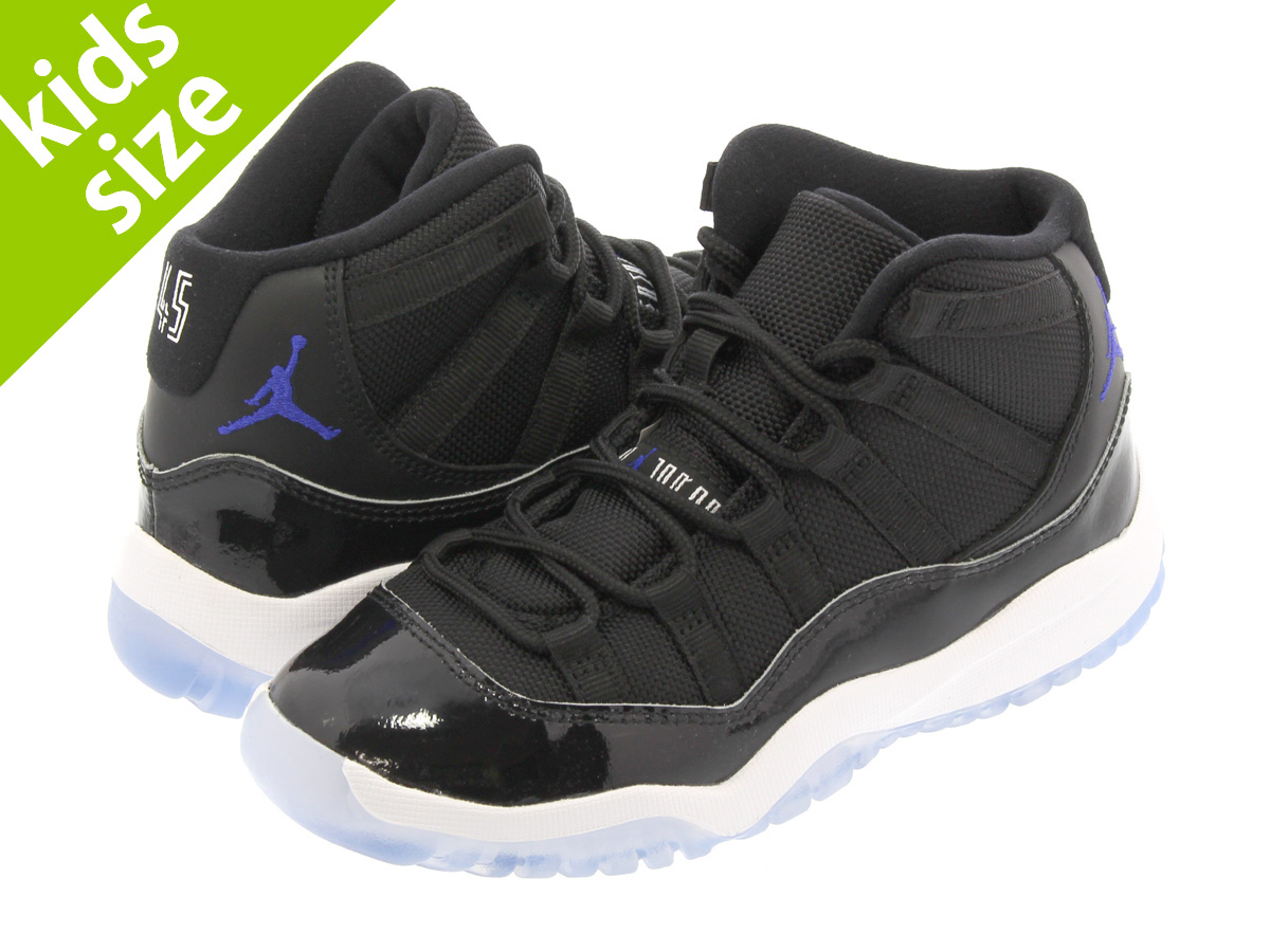 new style ff7cc f642f NIKE AIR JORDAN 11 RETRO BP Nike Air Jordan 11 nostalgic BP BLACK DARK  CONCORD WHITE