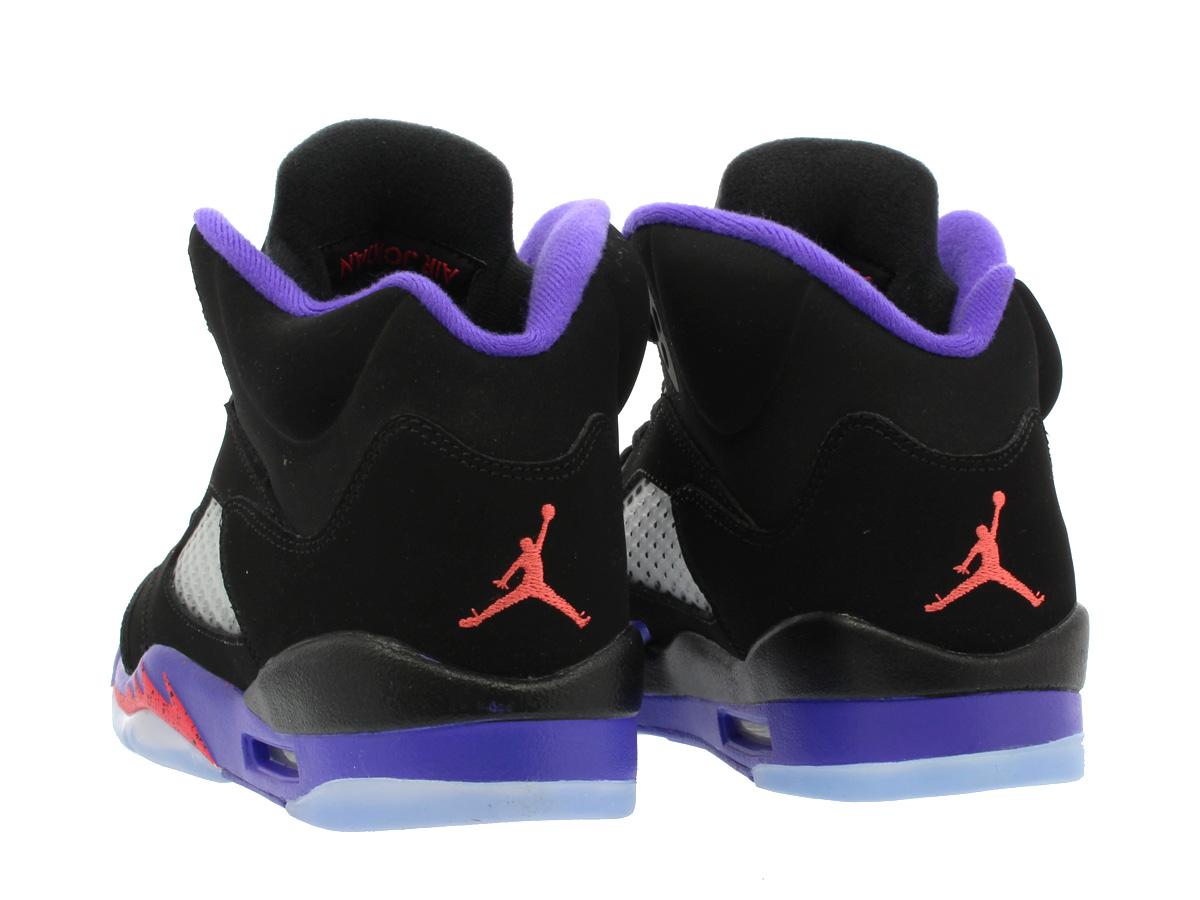 huge discount c75f7 9dc84 NIKE AIR JORDAN 5 RETRO GG Nike Air Jordan 5 nostalgic GG BLACK/FIERCE  PURPLE/EMBER GLOW 440,892-017