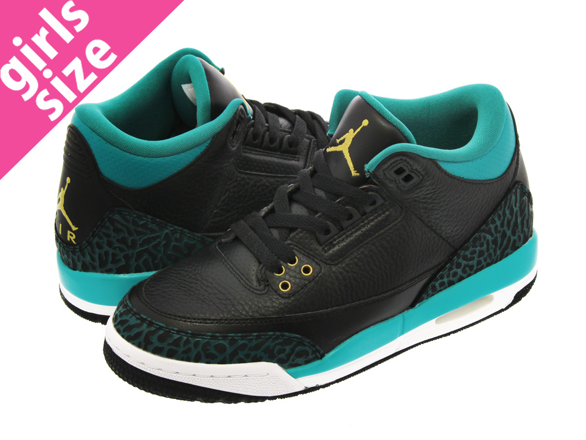 afaacaad13f8 ... 441140 018 black metallic gold rio teal brand spain nike air jordan 3  retro gg nike air jordan 3 nostalgic gg black metallic gold ...