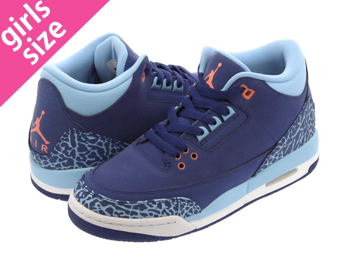 108bec6929405a NIKE AIR JORDAN 3 RETRO GG Nike Air Jordan 3 nostalgic GG DARK PURPLE DUST ATOMIC  PINK BLUE CAP