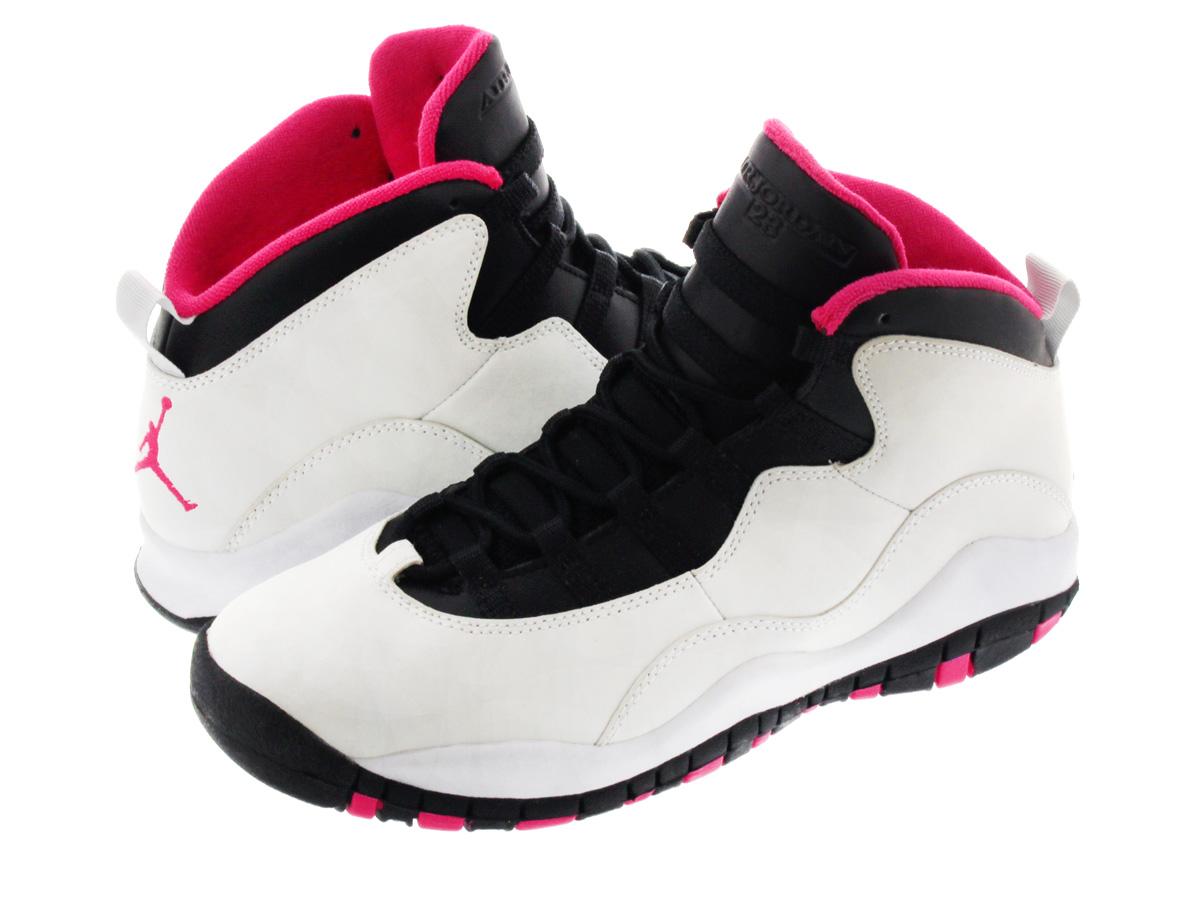 1c47b1f699f5 LOWTEX BIG-SMALL SHOP  NIKE AIR JORDAN 10 RETRO GS Nike Air Jordan 10 retro  GS PURE PLATINUM VIVID PINK BLACK