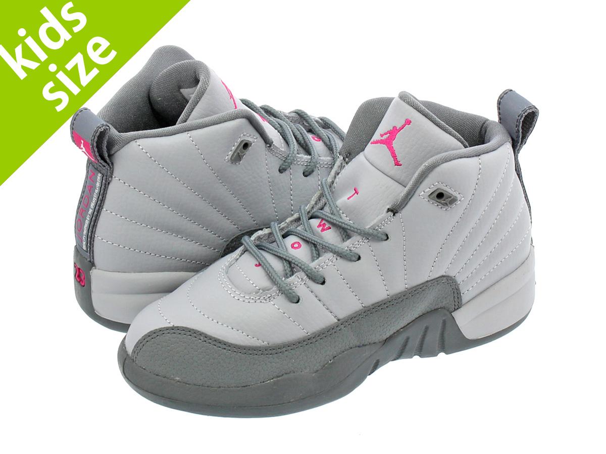 f43c41628662 NIKE AIR JORDAN 12 RETRO GP Nike Air Jordan 12 retro GP WOLF GREY VIVID PINK