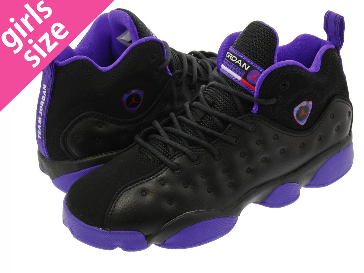 耐克乔丹飞人团队 2 GG 耐克乔丹飞人团队 2 GG 黑色/烬发光/激烈紫色