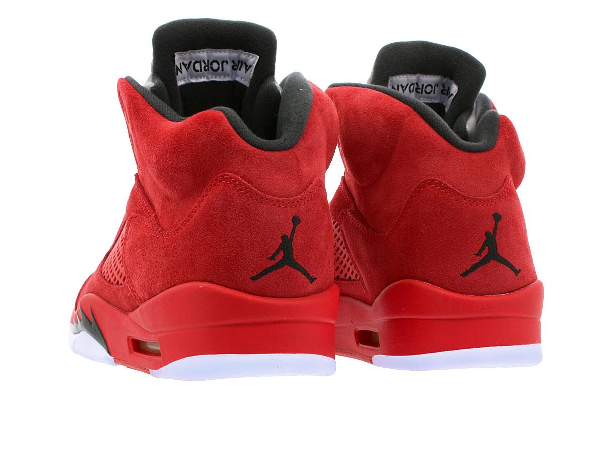 check-out 7b0dc c5703 NIKE AIR JORDAN 5 RETRO Nike Air Jordan 5 nostalgic UNIVERSITY  RED/BLACK/UNIVERSITY RED 136,027-602