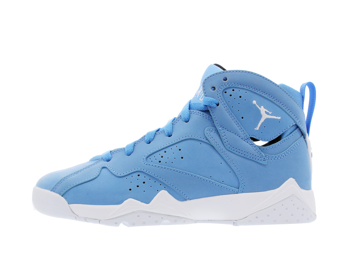 premium selection 6a799 574f5 NIKE AIR JORDAN 7 RETRO BG Nike Air Jordan 7 nostalgic BG UNIVERSITY  BLUE/WHITE/BLACK