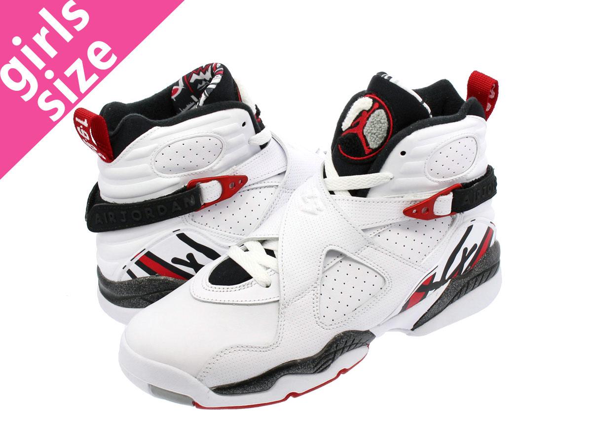 7a2b85d9d79f78 LOWTEX BIG-SMALL SHOP  NIKE AIR JORDAN 8 RETRO BG Nike Air Jordan 8  nostalgic BG WHITE GYM RED BLACK WOLF GREY