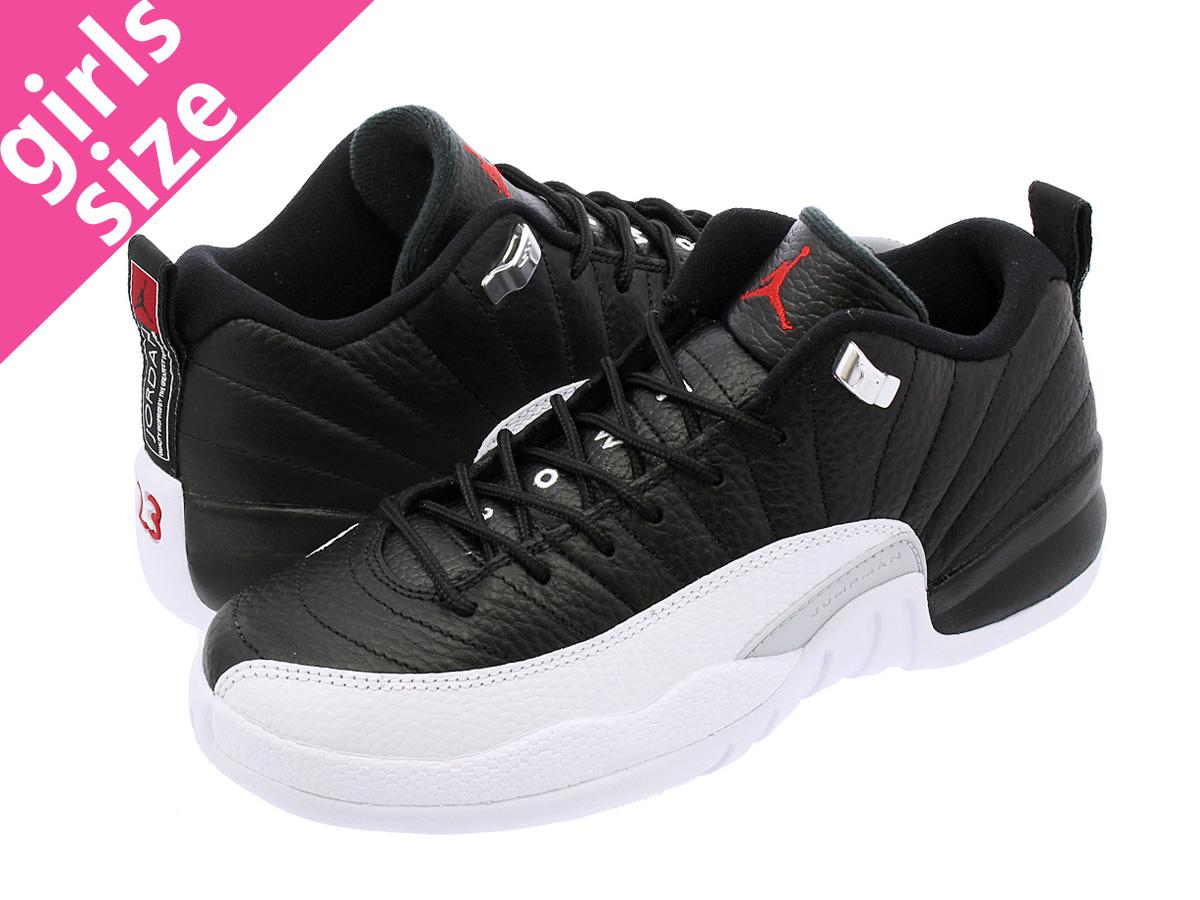 7247a92ab32 NIKE AIR JORDAN 12 RETRO LOW BG Nike Air Jordan 12 Lorre fatty tuna BG BLACK  ...