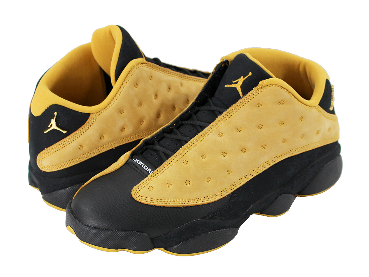9b7663055d7ed3 NIKE AIR JORDAN 13 RETRO LOW Nike Air Jordan 13 nostalgic low BLACK CHUTNEY