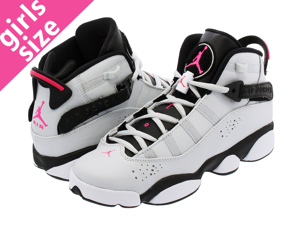 grey and pink 6 rings jordans Jordan rings grey white and pink shop our  selection ...