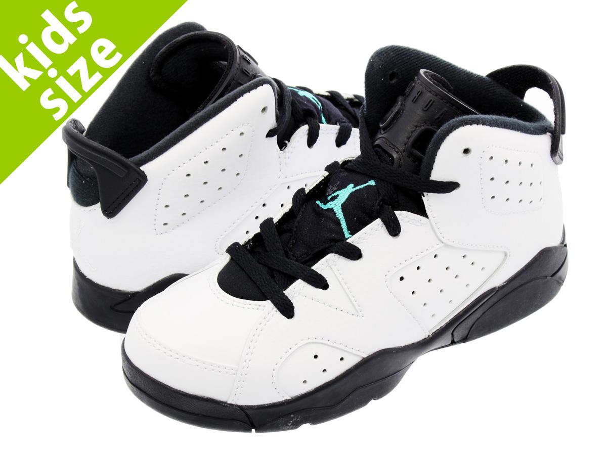 wholesale dealer 1bb82 28cfb NIKE AIR JORDAN 6 RETRO BP Nike Air Jordan 6 nostalgic BP WHITE HYPER  JADE BLACK