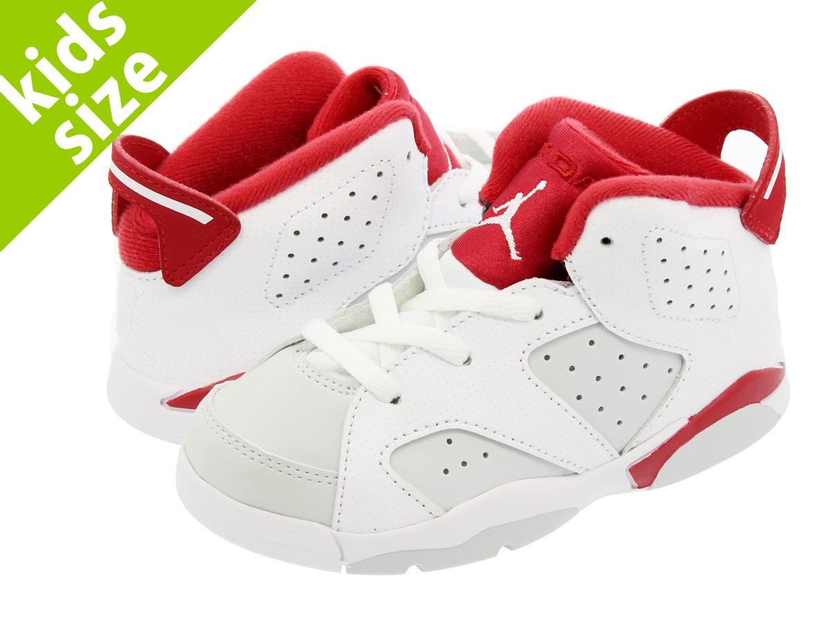 2d2246d20f5 NIKE AIR JORDAN 6 RETRO TD Nike Air Jordan 6 nostalgic TD WHITE/PURE  PLATINUM ...