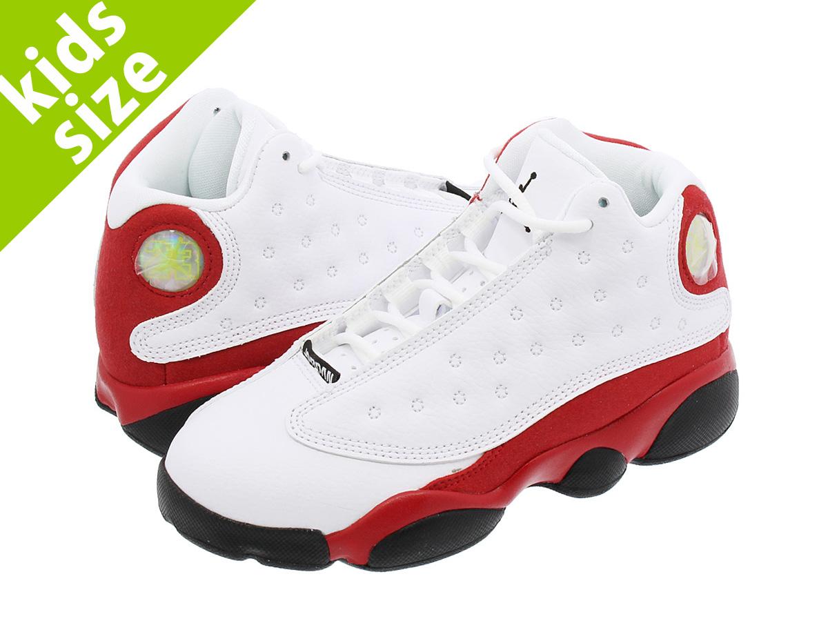 2d078e39f35eae NIKE AIR JORDAN 13 RETRO BP Nike Air Jordan 13 nostalgic BP WHITE BLACK TEAM  RED 414